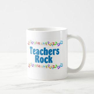 Teachers Rock Basic White Mug