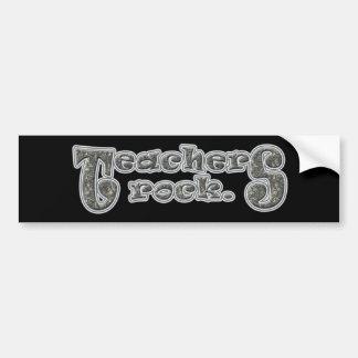 Teachers Rock Bumper Sticker