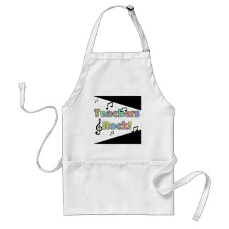 Teachers Rock Tshirts and Gifts Apron