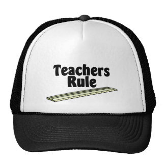 Teacher's Rule Trucker Hats
