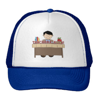 Teachers Rule - Male Tshirts and Gifts Cap