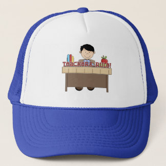Teachers Rule - Male Tshirts and Gifts Trucker Hat