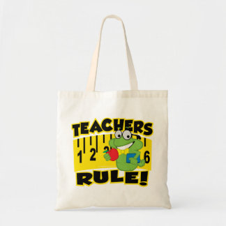 Teachers Rule! Tote Bag