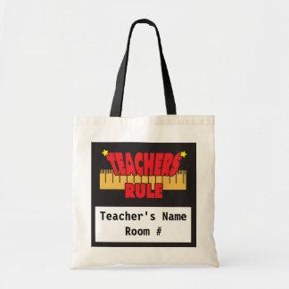Teachers Rule Tote Bag
