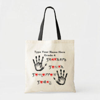 Teachers Touch Tomorrow Today - Personalise Bag