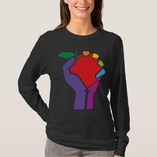 Teachers United Rainbow for black shirt