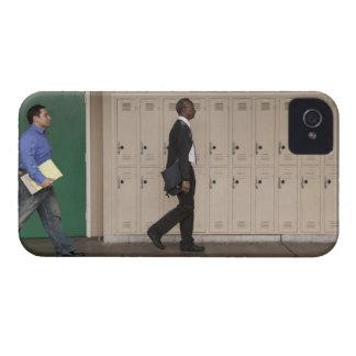 Teachers walking in school corridor Case-Mate iPhone 4 case