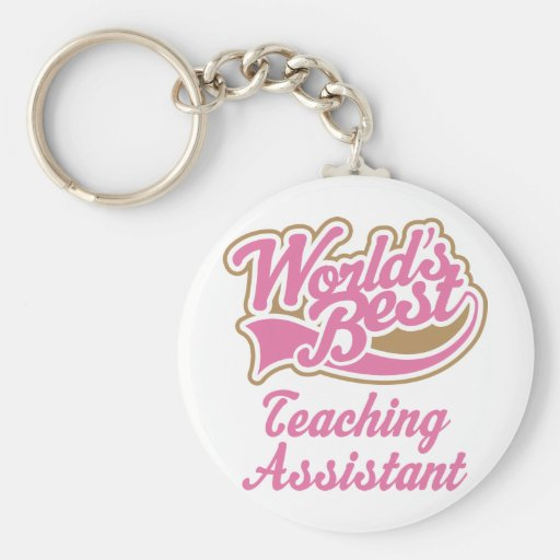 Teaching Assistant Gift Key Chain