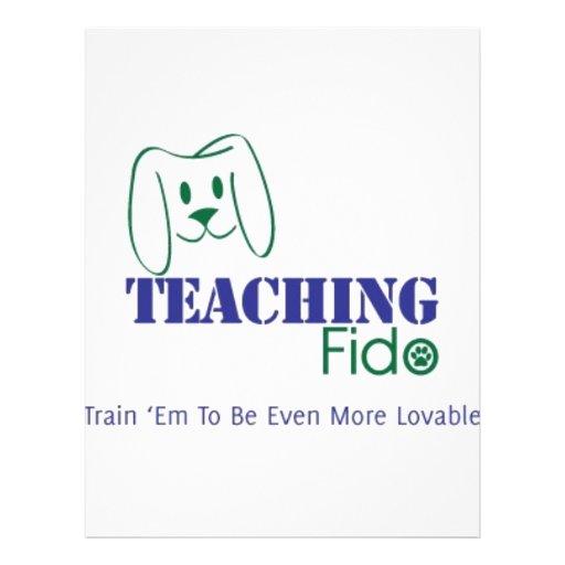 Teaching Fido Logo Wear Flyers