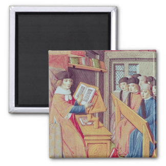 Teaching from 'Les Georgics' Square Magnet