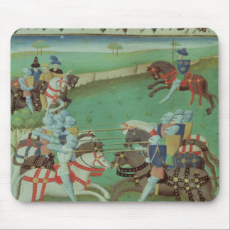 Teaching Knights to Joust Mouse Mat
