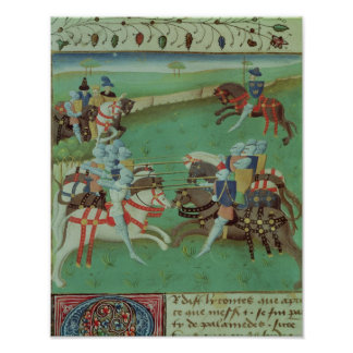 Teaching Knights to Joust Poster