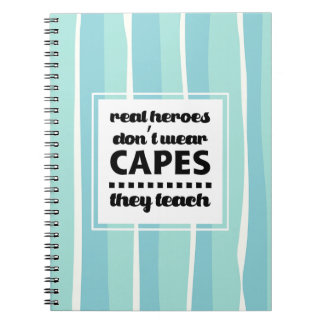 Teaching Quote | Typography design Gift Notebooks
