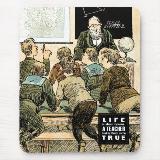 Teaching Quote | Vintage Art Gift Mousepads
