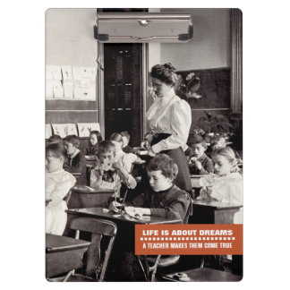Teaching Quote | Vintage Teacher Photo Clipboards