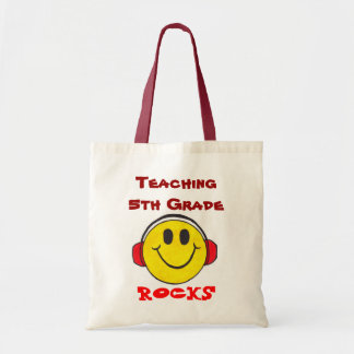 Teaching Rocks - Customizable Tote Budget Tote Bag