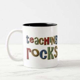 Teaching Rocks Two-Tone Mug
