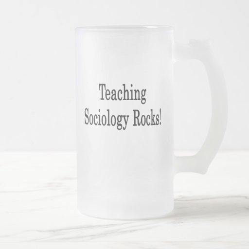 Teaching Sociology Rocks Coffee Mug