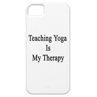 Teaching Yoga Is My Therapy iPhone 5 Cover