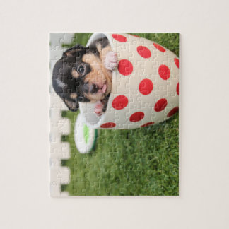 Teacup Chihuahua Puppy Jigsaw Puzzle