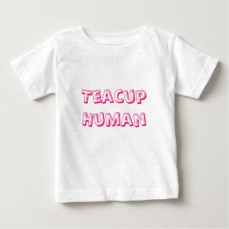Teacup Human Baby T-Shirt