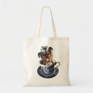 Teacup Terrier Tote Bag