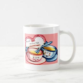 Teacup Valentine Basic White Mug