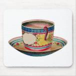 teacup vintage mouse pads