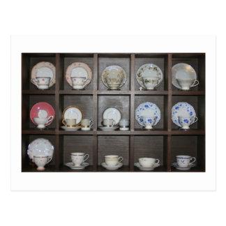 Teacups Postcard