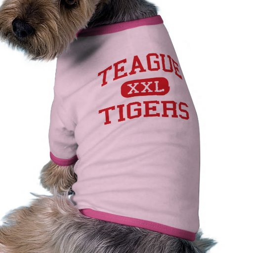 Teague - Tigers - Middle - Altamonte Springs Dog T Shirt