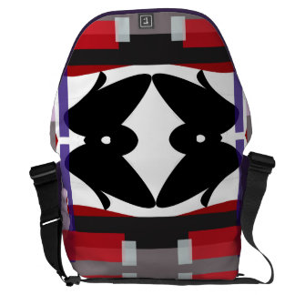 Teahouse Abstract Commuter Bags