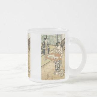 Teahouse at Edo, Kumisada, 1837 Mugs and Steins