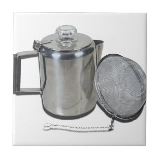 TeaInfuserCoffeePot120912 copy.png Small Square Tile