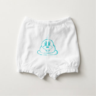 Teal 鲍 鲍 Baby Ruffled Diaper Bloomers Nappy Cover