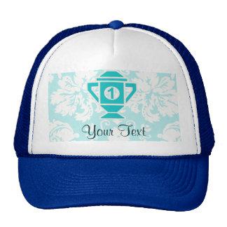 Teal 1st Place Trophy Hat