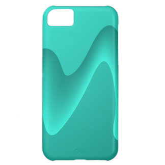 Teal Abstract Design Image. iPhone 5C Case