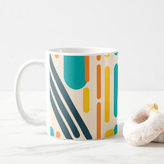 Teal - Abstract No. 3 Coffee Mug