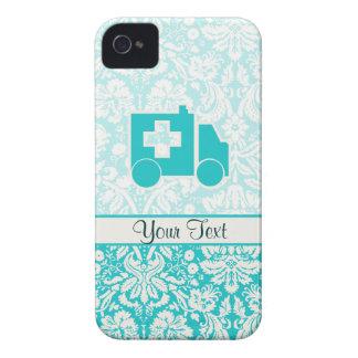Teal Ambulance iPhone 4 Covers