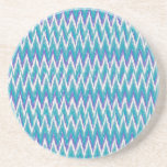 Teal and Amethyst iKat ZigZag pattern