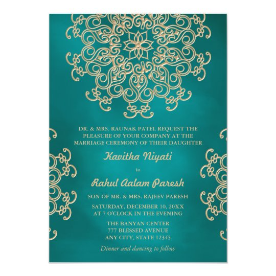 teal wedding invitations & announcements | zazzle.co.uk, Wedding invitations