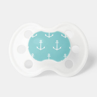 Teal and White Anchors Pattern 1 Dummy