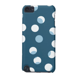 Teal and white dot pattern. Green - blue. iPod Touch (5th Generation) Covers