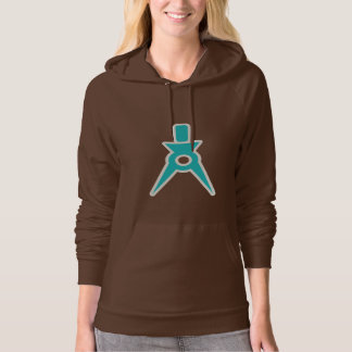 Teal Architect Hooded Pullover