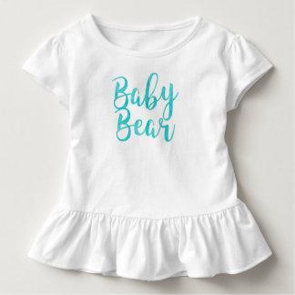 Teal Baby Bear Tshirt