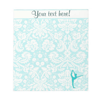 Teal Ballet Notepad