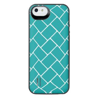 Teal Basket Weave iPhone 6 Plus Case