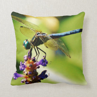 Teal & blue Dragonfly Pillows