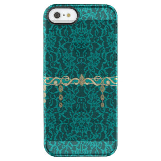 Teal Blue Green Lace With Jewelry iPhone 6 Plus Case