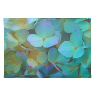 Teal; Blue Hydrangea Placemat