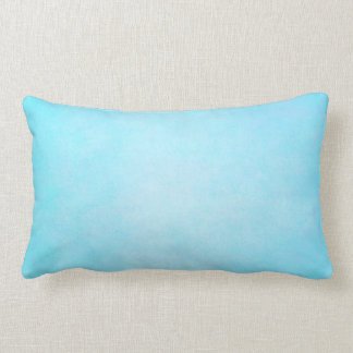 Teal Blue Light Watercolor Template Blank Pillow